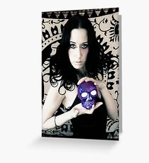 Thanatos Greeting Card