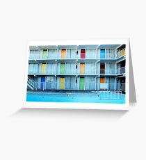 Wildwood, New Jersey, Motel Greeting Card