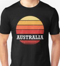 Retro Australia Sunset Shirt Unisex T-Shirt