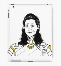 Ragnarok Loki (png.) iPad Case/Skin