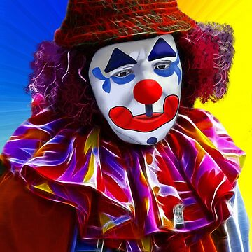 Sad Clown by 2HivelysArt