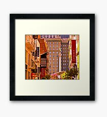 Union Square  - San Francisco Framed Print