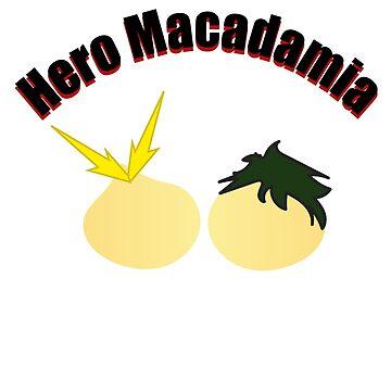 Hero Macadamia by xanimekingdomx