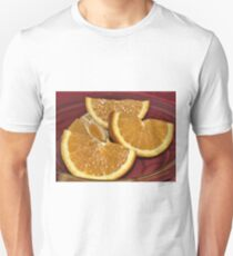 Yummy Orange still Life Unisex T-Shirt