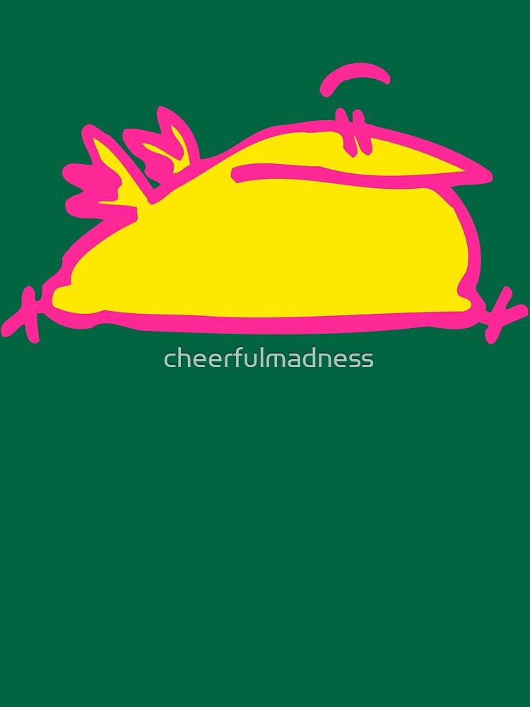 The Running Cartoon Bird T-Shirt by Cheerful Madness!! by cheerfulmadness