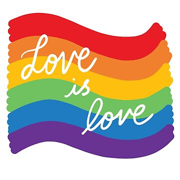 Love is love pride by michellestam