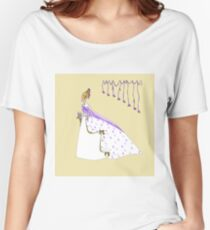 The Bride with Bouffant Hair and Lilies Women's Relaxed Fit T-Shirt