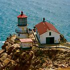 Point Reyes Lighthouse by Barbara  Brown