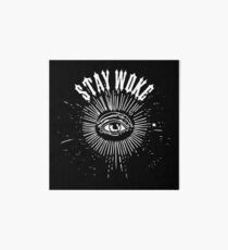 STAY WOKE LOGO Art Board