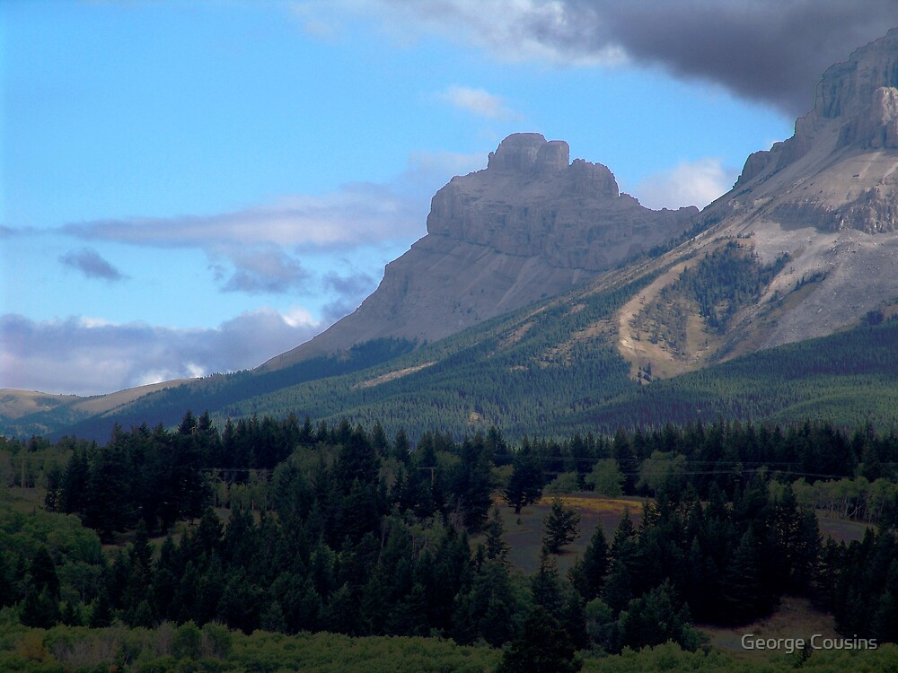 Crowsnest Pass by George Cousins