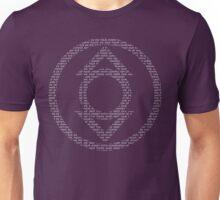 Indigo Lantern Oath (White) Unisex T-Shirt