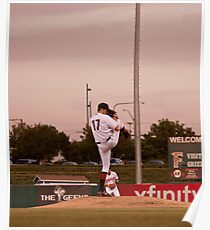 Giants Pitcher Barry Zito - Triple A Rehab Poster