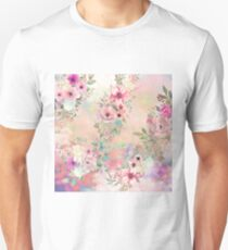 Botanical Fragrances in Blush Cloud Unisex T-Shirt