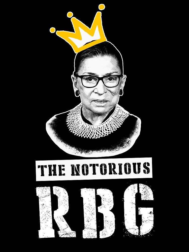 «Le t-shirt Notorious RGB t-shirt Ruth Bader Ginsburg je t-shirt dissident» par ChillingNation
