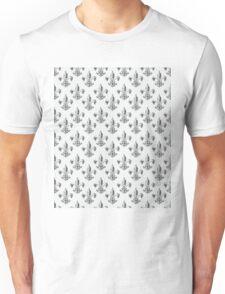 Fleur de lis in sketch pencil. Unisex T-Shirt