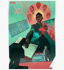 DETROIT: Werde ein menschliches Connor Poster Poster
