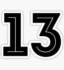No. 13 - World Cup 2018 Sticker
