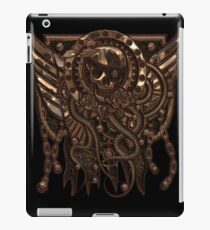 Airship Pirate Badge in Copper iPad Case/Skin
