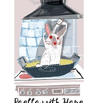 Rabbit Diaries: Paella with Hare by belettelepink