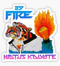 By Fire Ocelot Hiatus Kaiyote Sticker