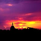 Purple Sunset by EroPicArt