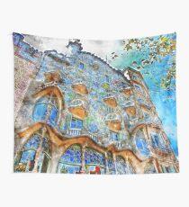 Barcelona, Casa Batllo Wall Tapestry