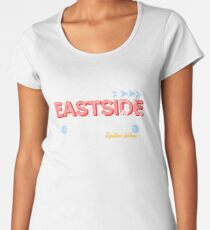 dc183fb18d0f Eastside Motel Premium Scoop T-Shirt