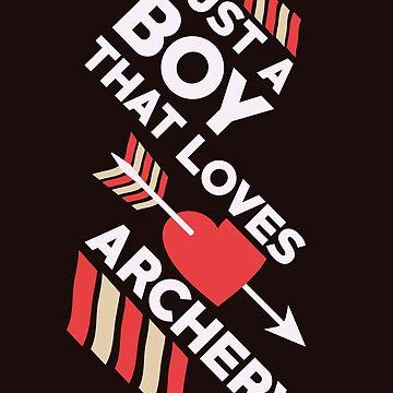 Arrow Shirt Just A Boy That Loves Archery Gift Tee For Men, Archery Shirt, Archery Gift, Archery, Arrow, Arrow Shirt, Arrow Gift, Gift For Archery, Archer, Archer Shirt, Gift For Archer by artbyanave