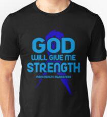 Mens Health Awareness Slim Fit T-Shirt