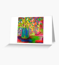 Billy Buttons Greeting Card