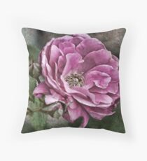 Precious Petals Throw Pillow