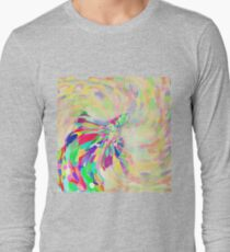 Hiding in color swirl Long Sleeve T-Shirt