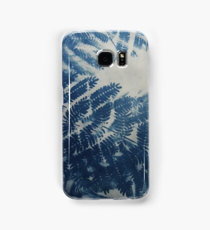 Fern Cyanotype Samsung Galaxy Case/Skin