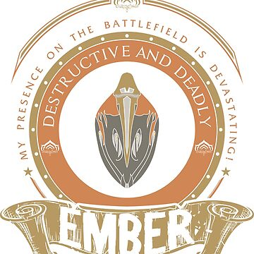 EMBER - LIMITED EDITION by exionstudios