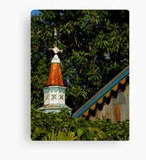 Roof With A View Canvas Print