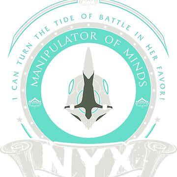 NYX - LIMITED EDITION by exionstudios