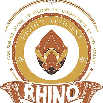 RHINO - LIMITED EDITION by exionstudios