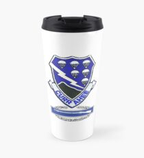 Currahee Patch & Combat Infantry Badge (CIB) Travel Mug