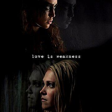 Love Is Weakness by missace1