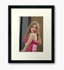 lchloe moretz Framed Print
