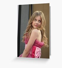 lchloe moretz Greeting Card