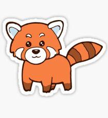 Katzenbär Süß Roter Panda Red Panda Sticker