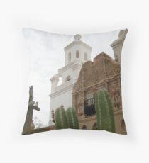 San Xavier del Bac Throw Pillow