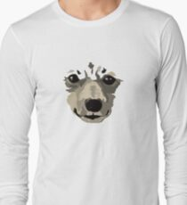 Sweet Korean Jindo-Dog Long Sleeve T-Shirt