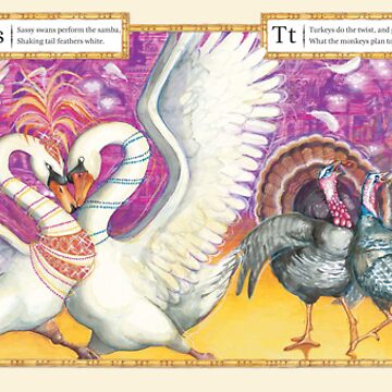Ballroom Bonanza: Swans samba, Turkeys twist by ninarycroft