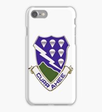 Currahee - 506th Infantry - 101st Airborne  iPhone Case/Skin