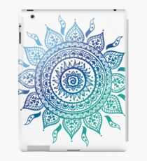 Blue Gradient Mandala  iPad Case/Skin