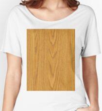 wood grain Women's Relaxed Fit T-Shirt