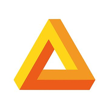 Impossible Triangle (Gold) by realmatdesign