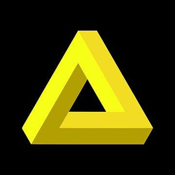 Impossible Triangle (Yellow) by realmatdesign